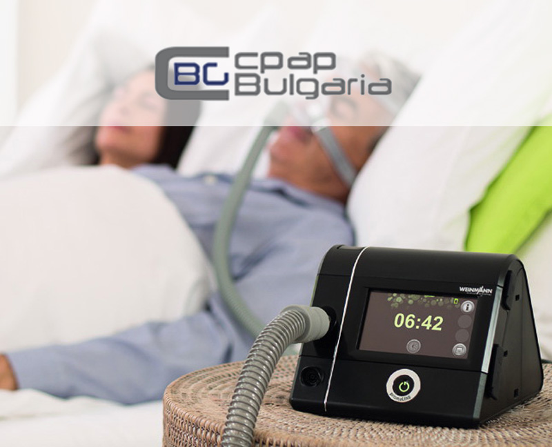 CPAP Bulgaria - web app for treatment with CPAP machines