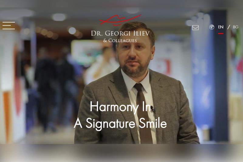 Website of Georgi Iliev, DMD