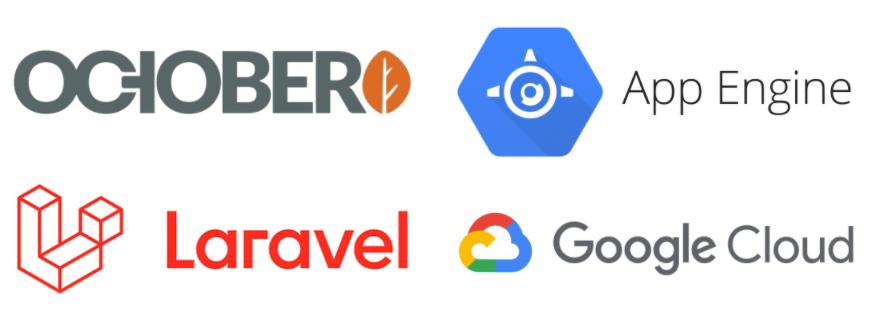 OctoberCMS (Laravel) Application on Google App Engine