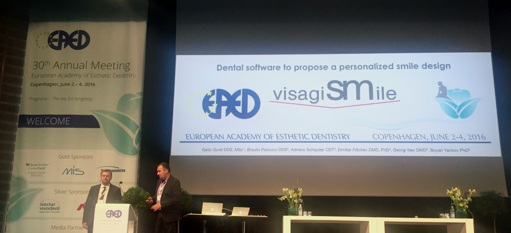 Dr. Georgi Iliev and Dr. Dimitar Filtchev at the 30th EAED Meeting in Copenhagen